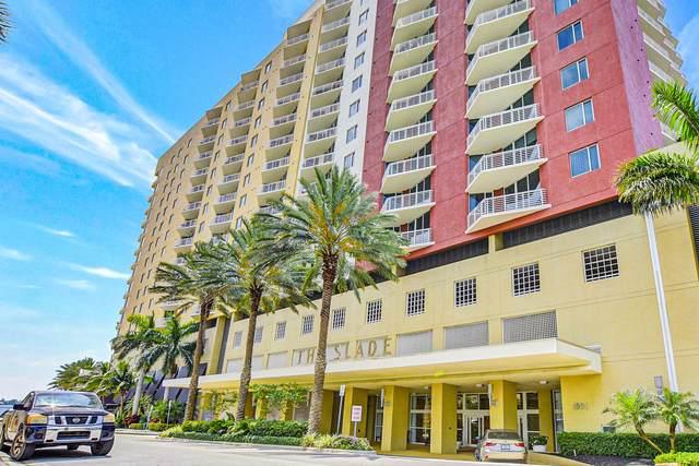 1551 N Flagler Drive #807, West Palm Beach, FL 33401 (#RX-10631507) :: Posh Properties