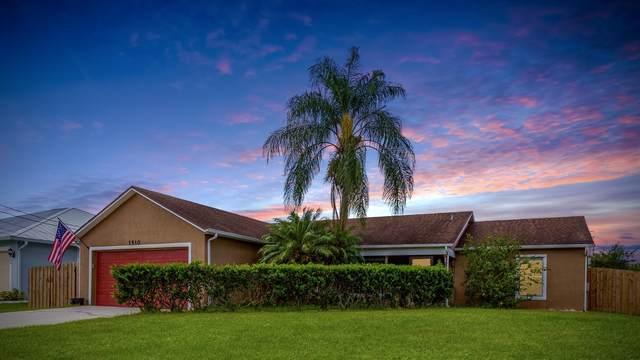 1510 SW Falmouth Avenue, Port Saint Lucie, FL 34953 (#RX-10633926) :: Ryan Jennings Group