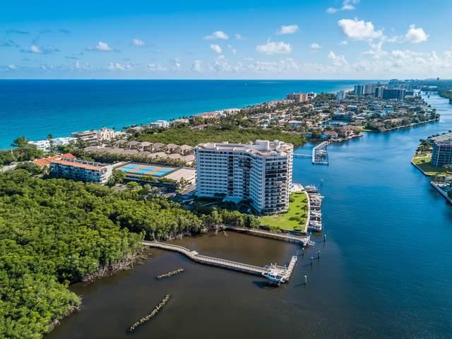 3912 S Ocean Boulevard #608, Highland Beach, FL 33487 (#RX-10634315) :: Realty One Group ENGAGE