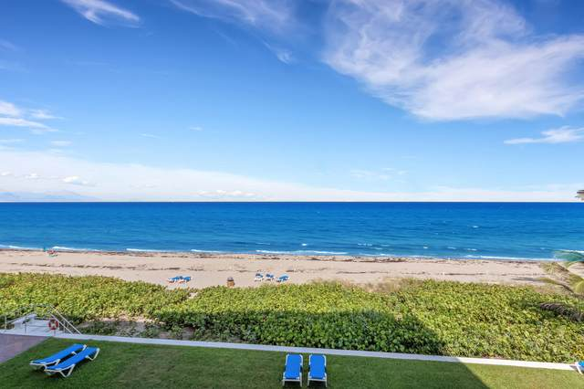 2909 S Ocean Boulevard 3D, Highland Beach, FL 33487 (#RX-10635532) :: Ryan Jennings Group