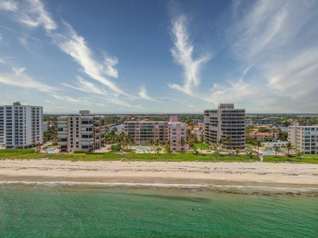 2921 S Ocean Boulevard #701, Highland Beach, FL 33487 (MLS #RX-10636018) :: The Paiz Group