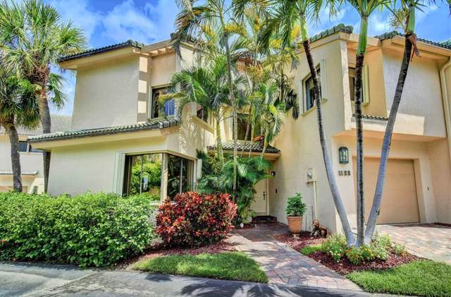 1123 Boca Cove Lane #1, Highland Beach, FL 33487 (#RX-10637977) :: Ryan Jennings Group