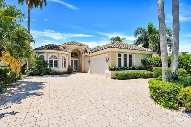 3370 Degas Drive W, Palm Beach Gardens, FL 33410 (MLS #RX-10638968) :: Berkshire Hathaway HomeServices EWM Realty