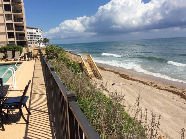 4000 S Ocean Boulevard #504, South Palm Beach, FL 33480 (MLS #RX-10642394) :: Berkshire Hathaway HomeServices EWM Realty