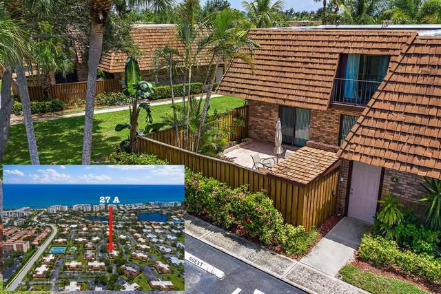 1420 Ocean Way 27A, Jupiter, FL 33477 (MLS #RX-10642621) :: Berkshire Hathaway HomeServices EWM Realty