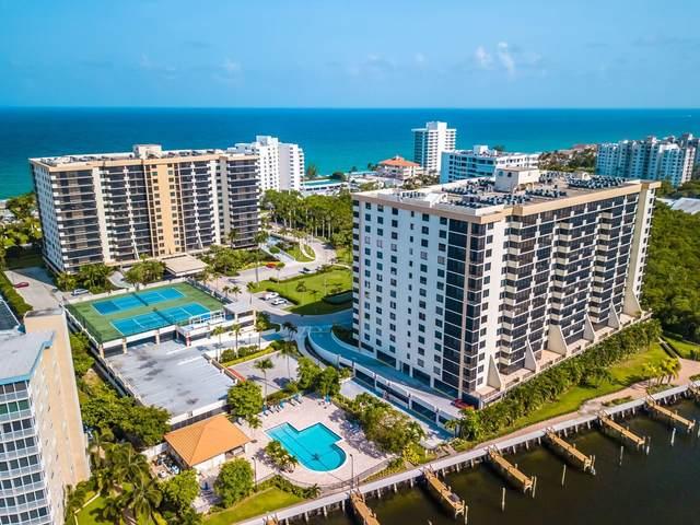 3420 S Ocean Boulevard 12S, Highland Beach, FL 33487 (#RX-10642645) :: Posh Properties