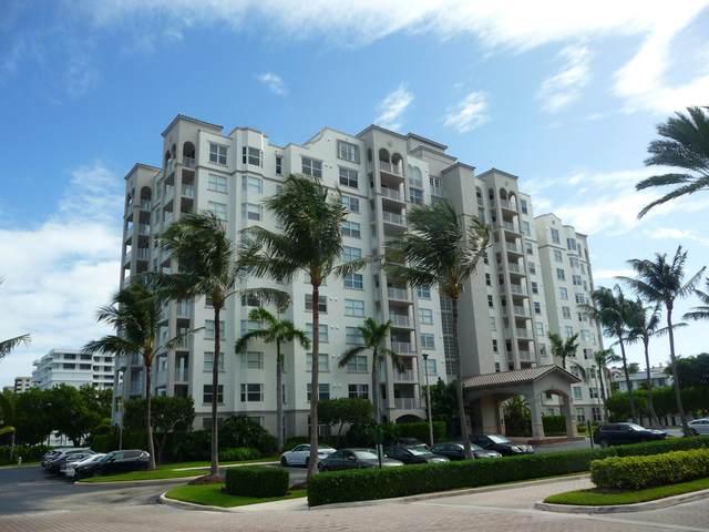 3594 S Ocean Boulevard #107, Highland Beach, FL 33487 (MLS #RX-10643263) :: Berkshire Hathaway HomeServices EWM Realty