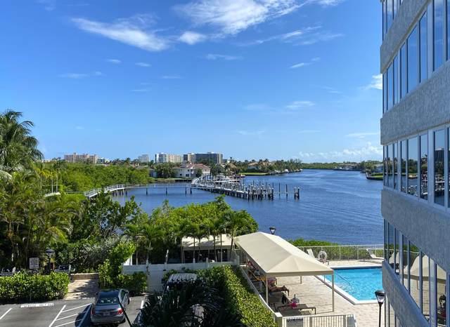 3912 S Ocean Boulevard #308, Highland Beach, FL 33487 (MLS #RX-10644291) :: Berkshire Hathaway HomeServices EWM Realty