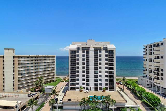 3115 S Ocean Boulevard #1102, Highland Beach, FL 33487 (MLS #RX-10645612) :: Berkshire Hathaway HomeServices EWM Realty