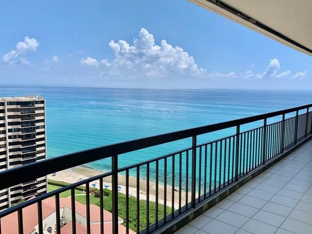 4000 N Ocean Drive #2003, Singer Island, FL 33404 (MLS #RX-10645715) :: Miami Villa Group