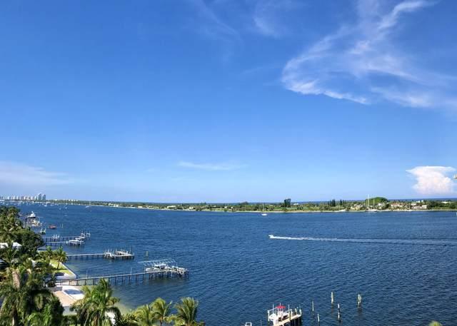 2800 N Flagler Drive #1011, West Palm Beach, FL 33407 (#RX-10645760) :: The Rizzuto Woodman Team
