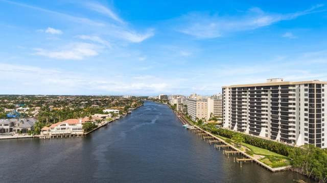 3420 S Ocean Boulevard 8Y, Highland Beach, FL 33487 (MLS #RX-10646272) :: Berkshire Hathaway HomeServices EWM Realty