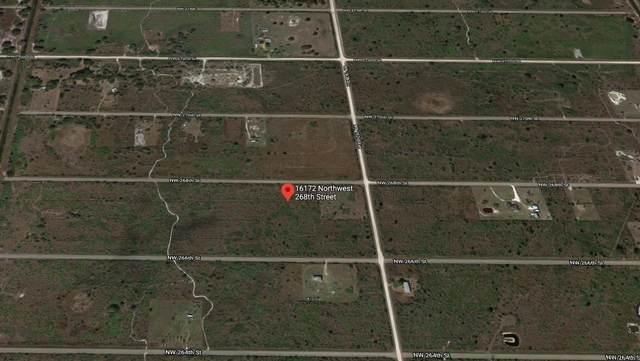 16172 NW 268th Street, Okeechobee, FL 34972 (#RX-10647286) :: Baron Real Estate