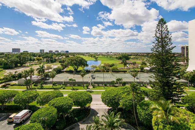 2400 Presidential Way #805, West Palm Beach, FL 33401 (MLS #RX-10647925) :: Berkshire Hathaway HomeServices EWM Realty