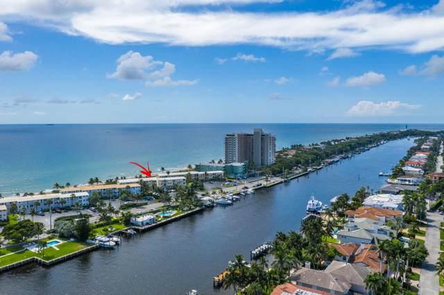 1041 Hillsboro Mile #8, Hillsboro Beach, FL 33062 (#RX-10648028) :: Ryan Jennings Group