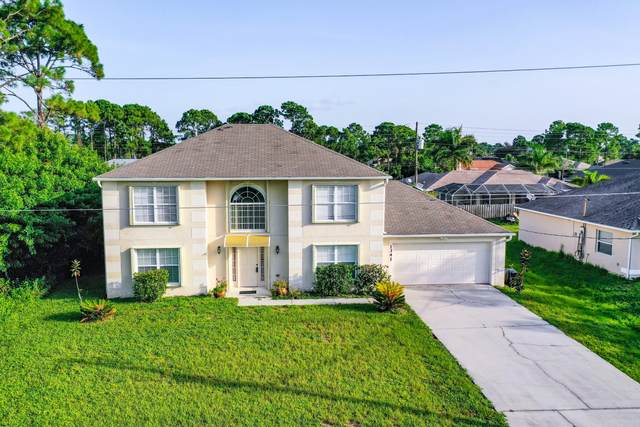 1341 SW Kapok Avenue, Port Saint Lucie, FL 34953 (MLS #RX-10649670) :: Berkshire Hathaway HomeServices EWM Realty
