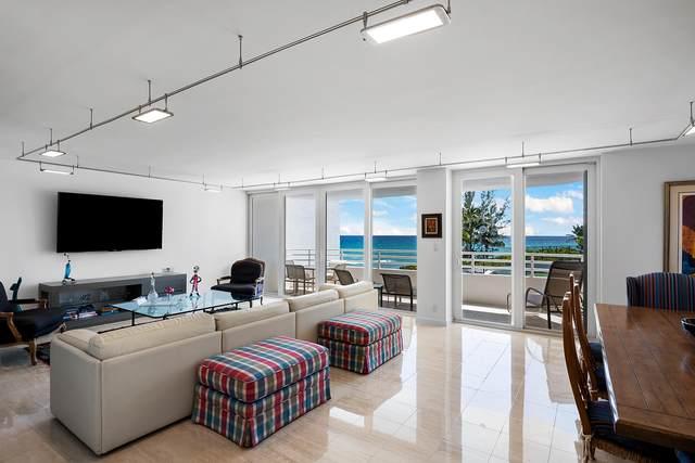 3407 S Ocean Boulevard 3-C, Highland Beach, FL 33487 (#RX-10653273) :: Ryan Jennings Group