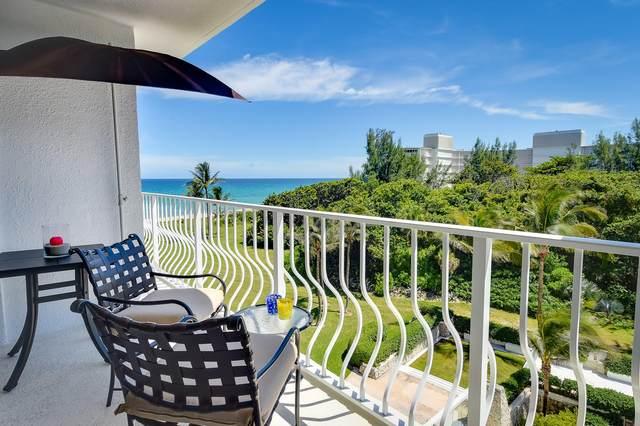 2774 S Ocean Boulevard #506, Palm Beach, FL 33480 (#RX-10654030) :: The Rizzuto Woodman Team