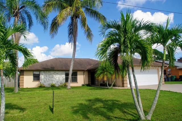 455 SE Fallon Drive, Port Saint Lucie, FL 34983 (MLS #RX-10655142) :: Laurie Finkelstein Reader Team