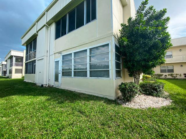 199 Normandy E, Delray Beach, FL 33484 (#RX-10656420) :: Treasure Property Group