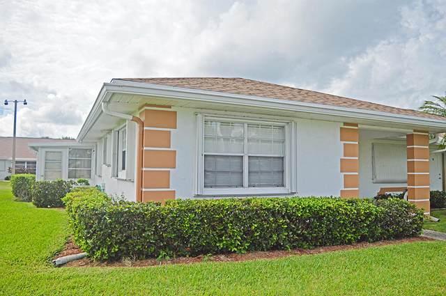 627 Pines Knoll Drive A, Fort Pierce, FL 34982 (MLS #RX-10658653) :: Berkshire Hathaway HomeServices EWM Realty