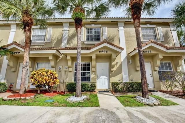 6965 Stoney Creek Circle, Lake Worth, FL 33467 (MLS #RX-10661243) :: Berkshire Hathaway HomeServices EWM Realty