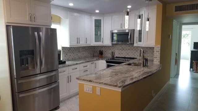 493 Normandy K, Delray Beach, FL 33484 (MLS #RX-10662556) :: Berkshire Hathaway HomeServices EWM Realty