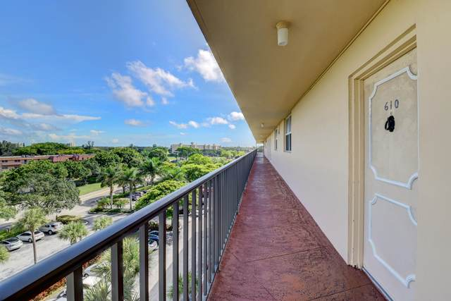 5961 Nw 2nd Ave #610, Boca Raton, FL 33487 (MLS #RX-10662653) :: Berkshire Hathaway HomeServices EWM Realty