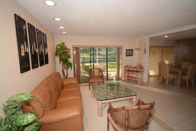 41 Stratford Lane G, Boynton Beach, FL 33436 (MLS #RX-10664049) :: Berkshire Hathaway HomeServices EWM Realty