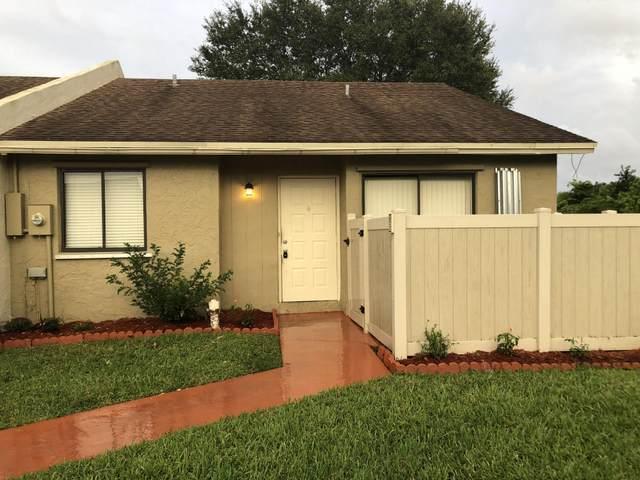 10239 Boca Bend W H5, Boca Raton, FL 33428 (MLS #RX-10664869) :: Berkshire Hathaway HomeServices EWM Realty