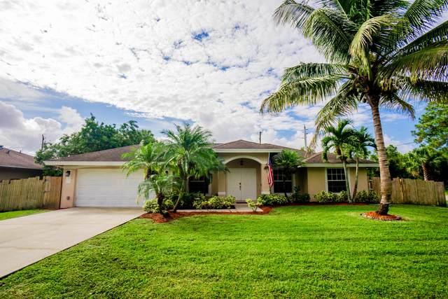 1596 SW Birkey Avenue, Port Saint Lucie, FL 34953 (MLS #RX-10665579) :: Berkshire Hathaway HomeServices EWM Realty