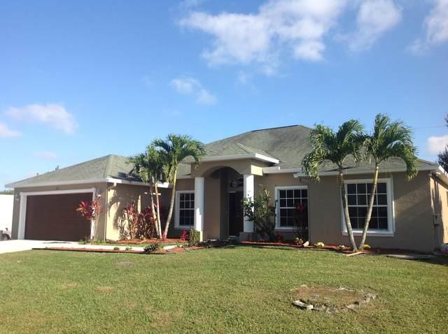 610 SW Millard Drive, Port Saint Lucie, FL 34953 (MLS #RX-10667422) :: Berkshire Hathaway HomeServices EWM Realty