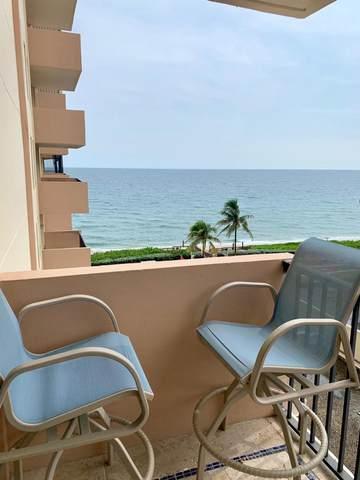 1149 Hillsboro Mile #606, Hillsboro Beach, FL 33062 (#RX-10667927) :: Posh Properties