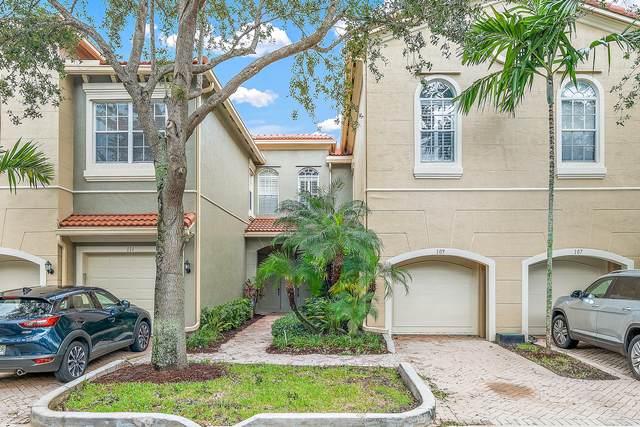 4861 Bonsai Circle #109, Palm Beach Gardens, FL 33418 (MLS #RX-10670161) :: Berkshire Hathaway HomeServices EWM Realty