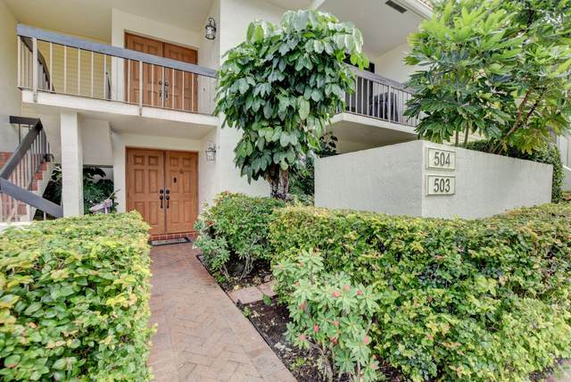 6852 Willow Wood Drive #503, Boca Raton, FL 33434 (#RX-10670634) :: Posh Properties
