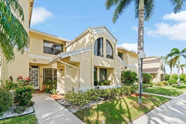 16769 Oak Hill Trail #721, Delray Beach, FL 33484 (MLS #RX-10671572) :: Berkshire Hathaway HomeServices EWM Realty