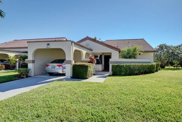 5561 Parkwalk Circle E, Boynton Beach, FL 33472 (#RX-10671693) :: Signature International Real Estate