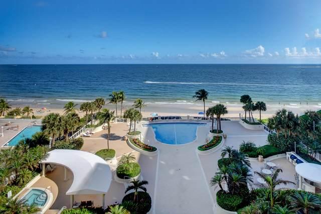 4240 Galt Ocean Drive #803, Fort Lauderdale, FL 33308 (MLS #RX-10672466) :: Berkshire Hathaway HomeServices EWM Realty