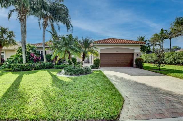 6682 Maggiore Drive, Boynton Beach, FL 33472 (MLS #RX-10672628) :: Miami Villa Group