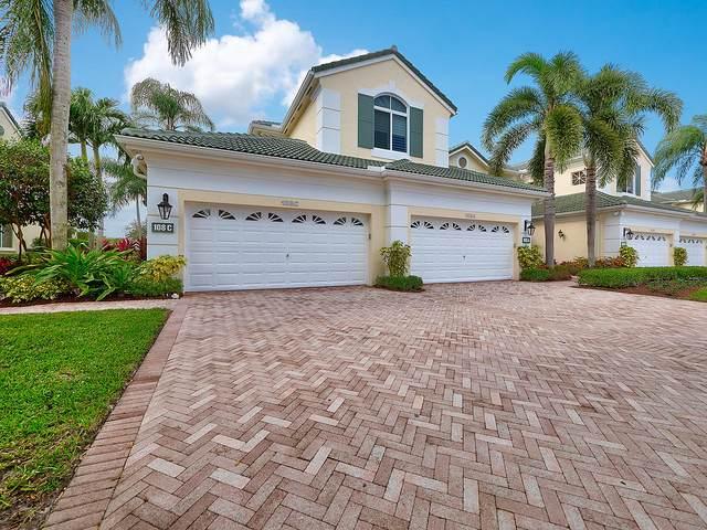 108 Palm Point Circle C, Palm Beach Gardens, FL 33418 (MLS #RX-10673370) :: Berkshire Hathaway HomeServices EWM Realty