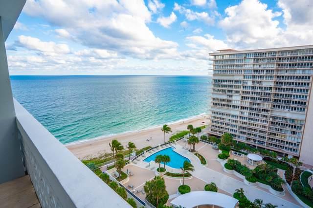 4250 Galt Ocean Drive 14K, Fort Lauderdale, FL 33308 (#RX-10674104) :: Signature International Real Estate