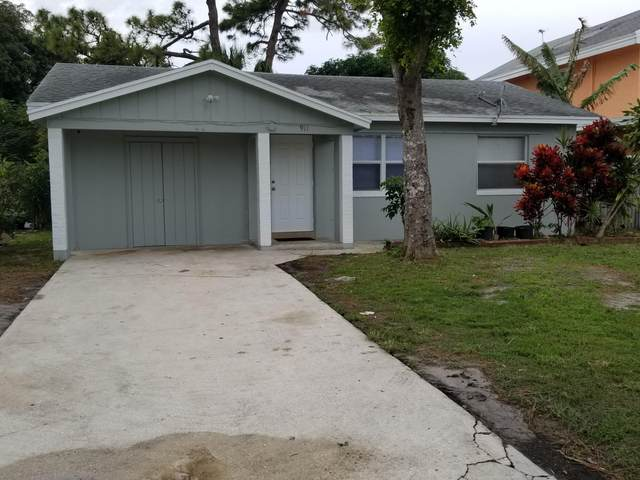 911 Rudolf Road, Lake Worth, FL 33461 (MLS #RX-10675705) :: THE BANNON GROUP at RE/MAX CONSULTANTS REALTY I