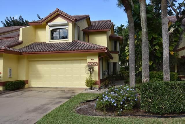 5395 10th Fairway Drive #4, Delray Beach, FL 33484 (MLS #RX-10677503) :: Laurie Finkelstein Reader Team