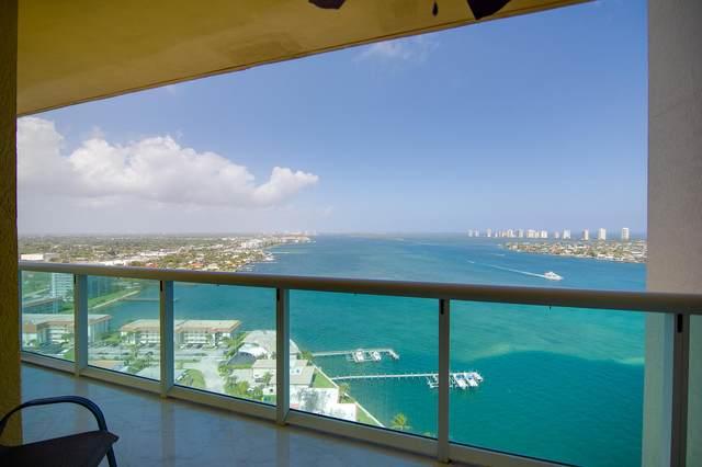 2650 Lake Shore 2303 Drive 2303 Lower Pent, Riviera Beach, FL 33404 (#RX-10680514) :: Signature International Real Estate
