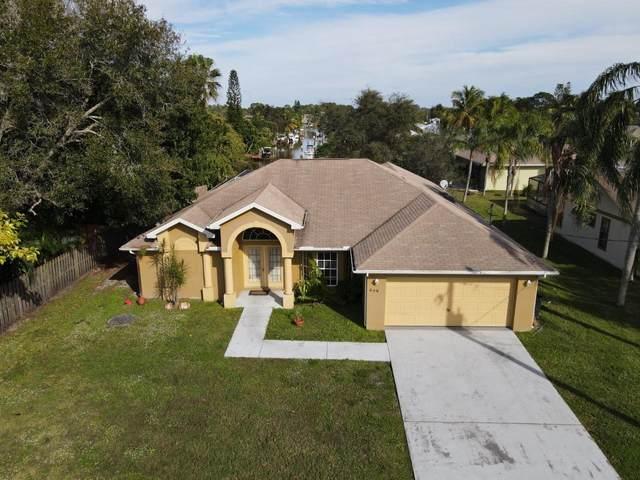 449 NE Airoso Boulevard, Port Saint Lucie, FL 34983 (MLS #RX-10680760) :: Laurie Finkelstein Reader Team