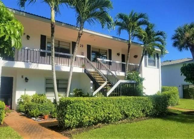 29 Stratford Lane F, Boynton Beach, FL 33436 (#RX-10680771) :: Realty One Group ENGAGE