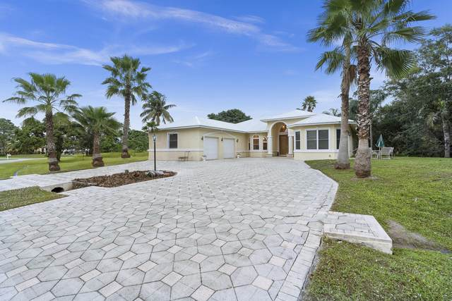 306 SE Fisk Road, Port Saint Lucie, FL 34984 (MLS #RX-10681520) :: THE BANNON GROUP at RE/MAX CONSULTANTS REALTY I