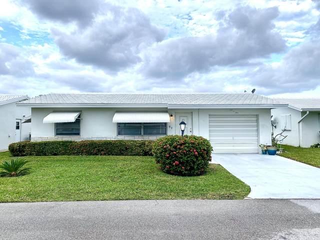 105 SW 8th Place, Boynton Beach, FL 33426 (MLS #RX-10682974) :: Laurie Finkelstein Reader Team