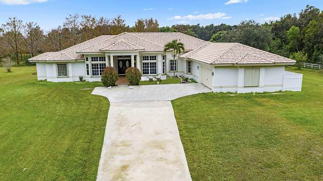 19802 Egret Lane, Loxahatchee, FL 33470 (MLS #RX-10685047) :: THE BANNON GROUP at RE/MAX CONSULTANTS REALTY I