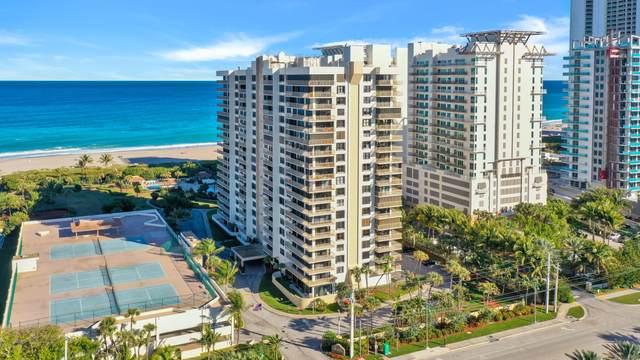 3400 N Ocean Drive #406, Singer Island, FL 33404 (#RX-10689409) :: Signature International Real Estate